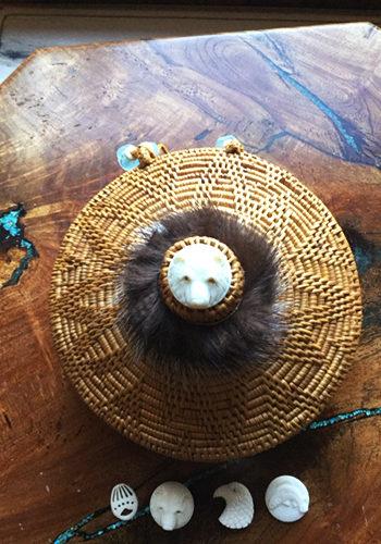 Round Grass Basket
